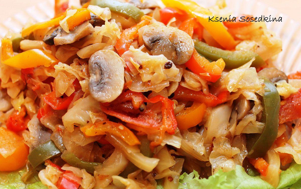 Салат с грибами и курицей рецепт простой рецепт с