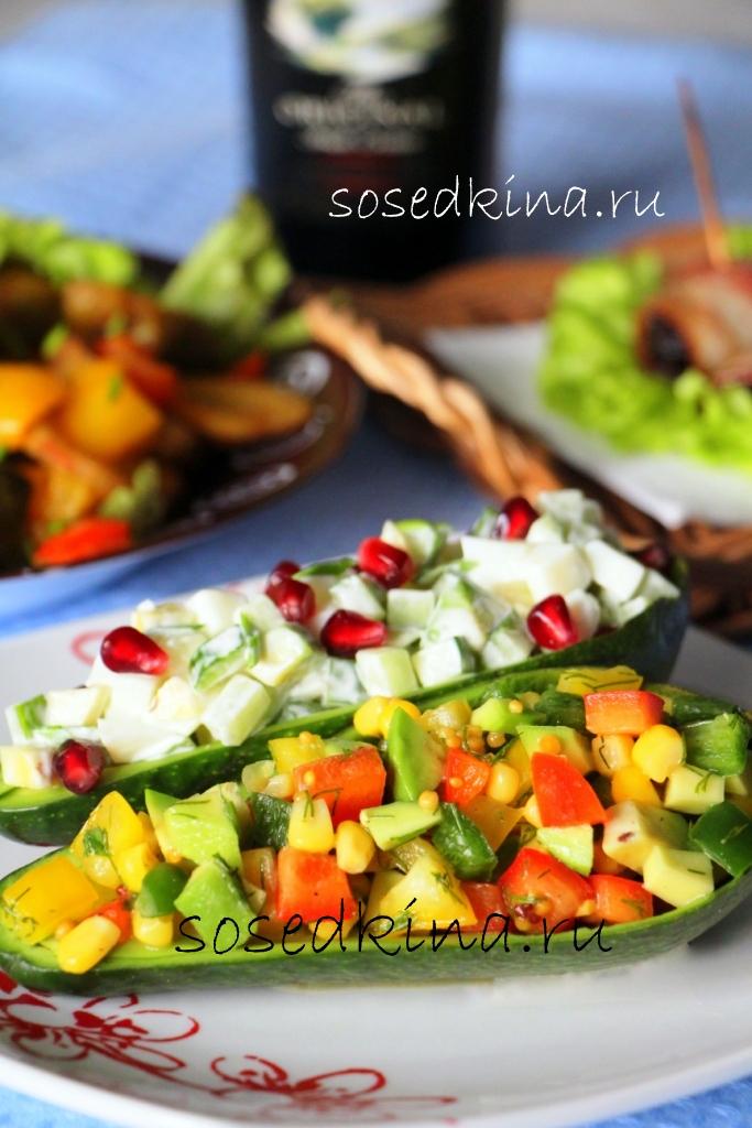 салат из авакадо кукурузы и салата время обработки