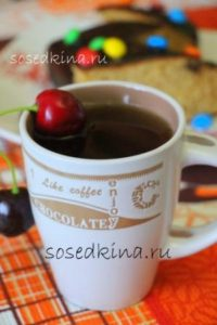 Чай с вишней, корицей и имбирём (4)22
