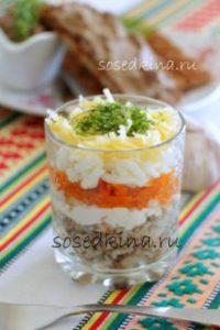 Салат с консервированной сайрой, рисом и сыром (8)22