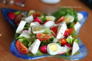Салат с сыром Фета, редисом и черри (4)22