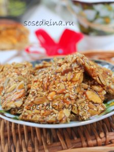 Козинаки из кунжута, семян тыквы и подсолнечника (5)22
