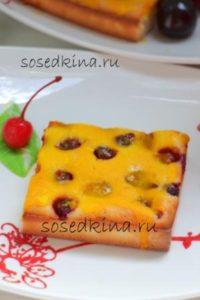 Пирог с вишней на кефире (7)22